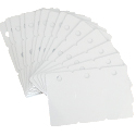 Fotodek Cards White 3 up Tags