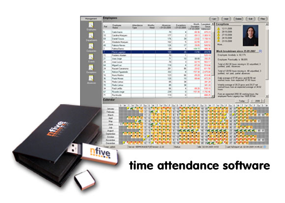 Timefive Software securizare