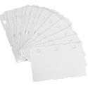 Fotodek Cards White 3 up Tags