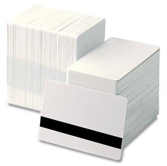 Carduri albe cu banda magnetica HICO