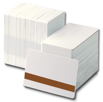Carduri albe cu banda magnetica LOCO