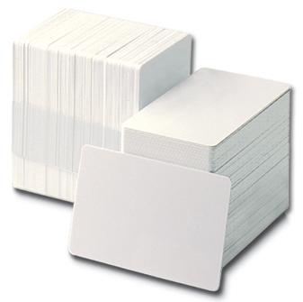 Carduri albe cu panel semnatura