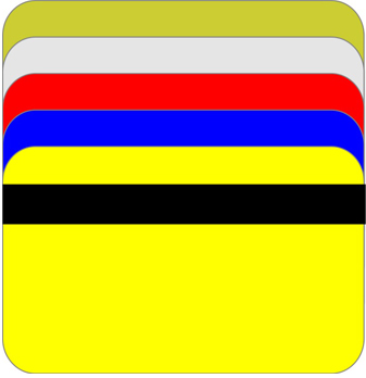 Carduri colorate cu banda magnetica HICO